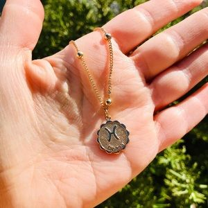Jewelry - Zodiac Pisces gold chain pendant necklace New